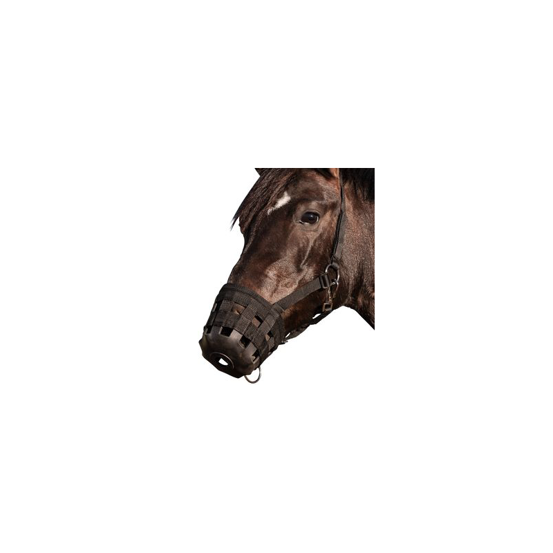 MUSELIERE NYLON CHEVAL DE TRAIT