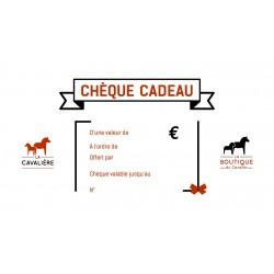 Chèque Cadeau Cavalier
