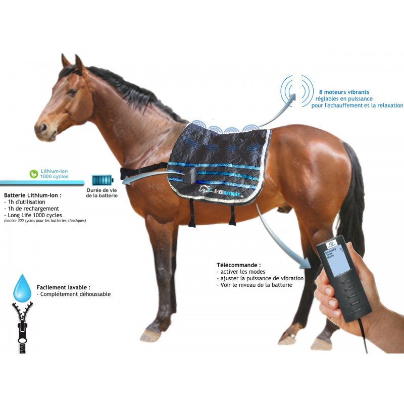 CLASSIC - Tapis de massage vibrant