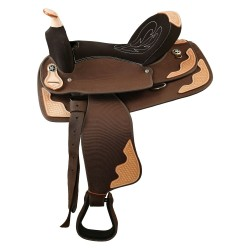Selle Western Cheval de Trait