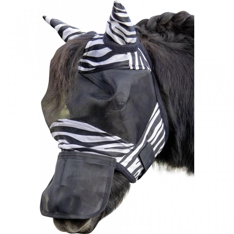 Masque Anti Mouche Zebra Shetty