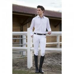 Pantalon D'equitation Equitheme Verona A Pinces Homme