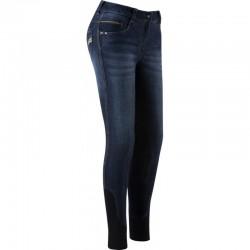 Pantalon D'equitation Equitheme Jean Texas Femme