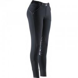 Pantalon D'equitation Equitheme Thermic Basane Silicone Femme