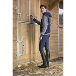 PANTALON D'EQUITATION EQUITHEME THERMIC BASANE SILICONE HOMME