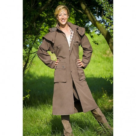 Impermeable Equitheme Riding Coat Adulte