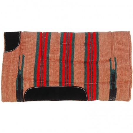 HORSE PAD NAVAJO DOUBLE MOUTON SYNTHETIQUE
