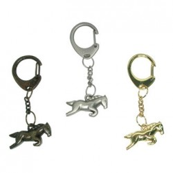 PORTE CLES CHEVAL GOLD
