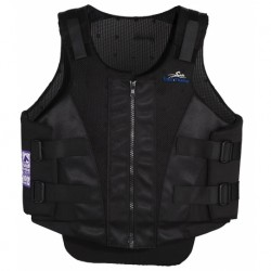 GILET DE PROTECTION EQUITHEME ZIP ADULTE