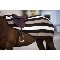 COUVRE REINS POLAIRE EQUITHEME STRIPE